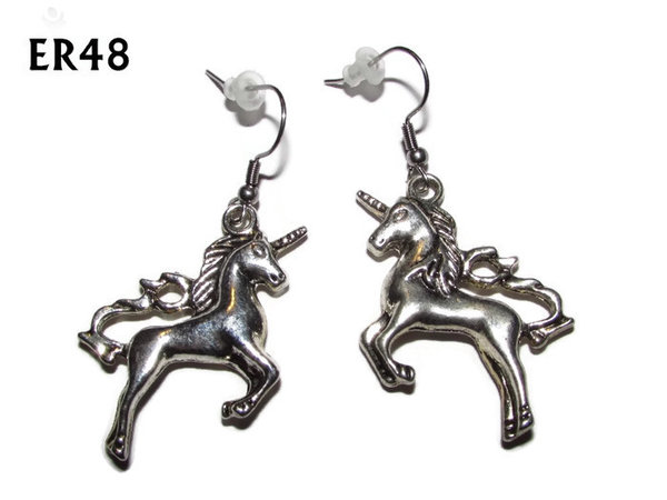 Earrings, Unicorn