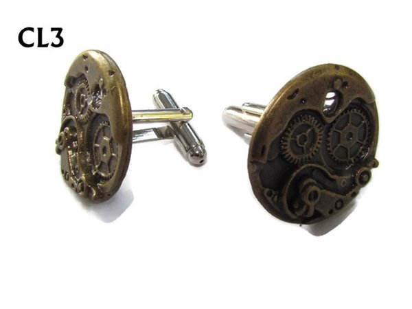 Cufflinks, Clockworkings bronze