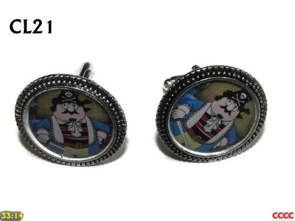 Cufflinks, Captain Pugwash