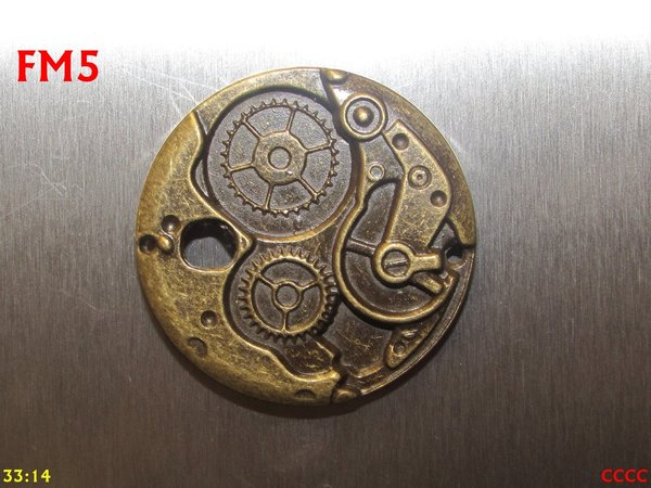 Fridge Magnet, Clockworkings Bronze