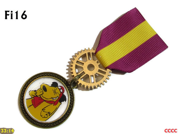 Medal, MFi16, Muttley Bronze