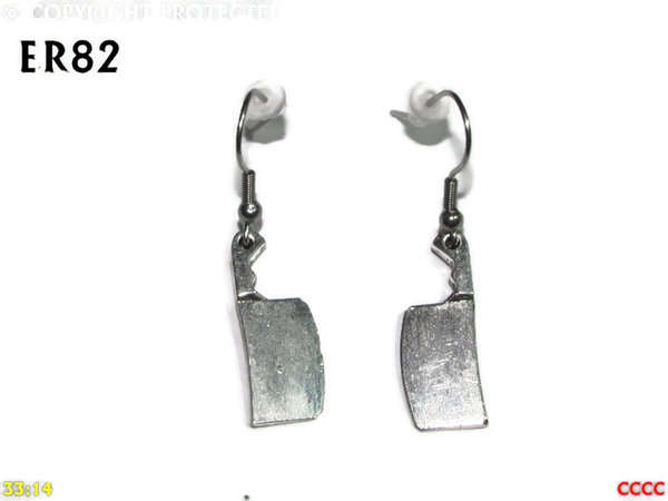 Earrings, Cleaver