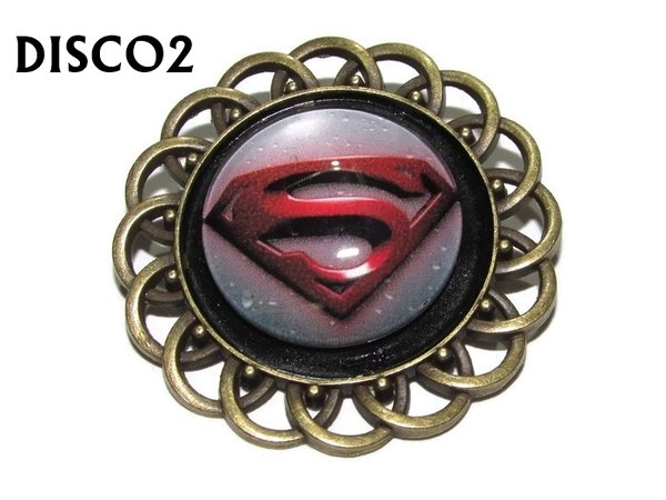Badge, DISCO2, Discontinued, , Superman