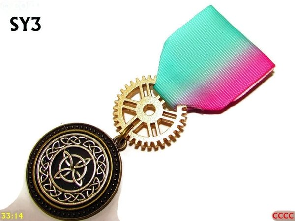 Medal, MSY03, Witch's knot