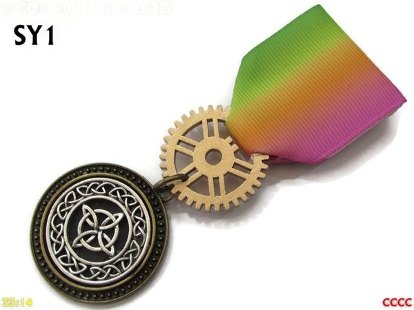 Medal, MSY01, Witch's knot