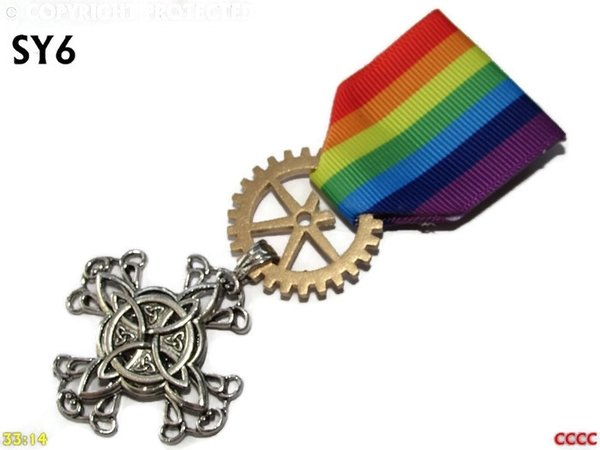 Medal, MSY06, Witchs knot, cross