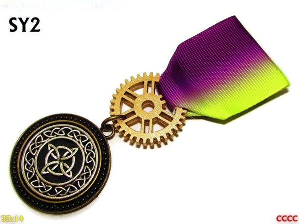 Medal, MSY02, Witch's knot