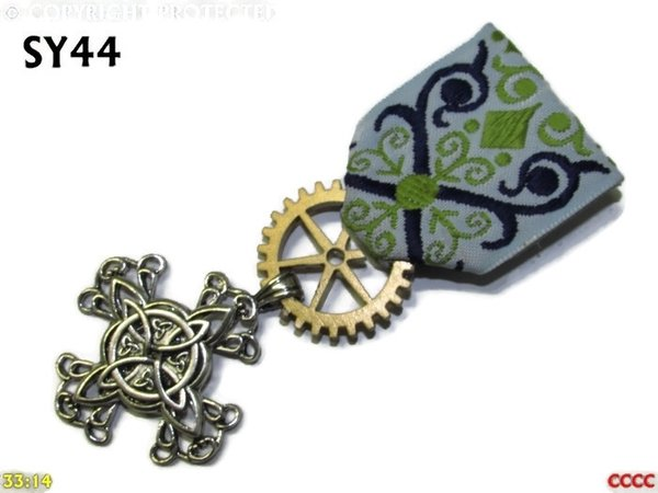 Medal, MSY44, Witch's knot cross