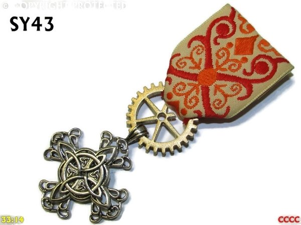 Medal, MSY43 Witch's knot cross