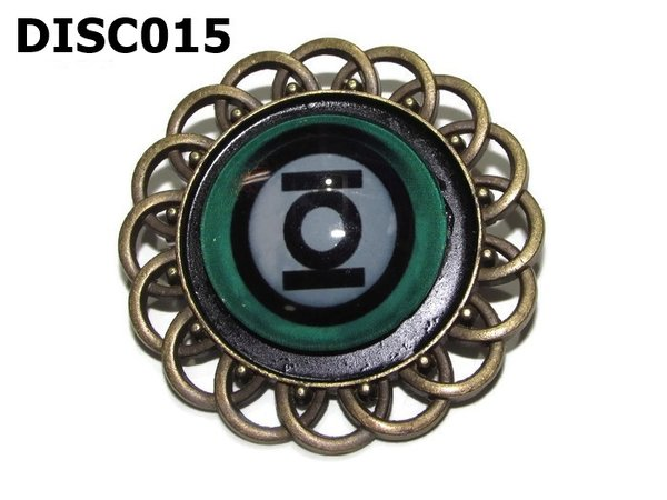 Badge, DISCO15, Discontinued, Green Lantern