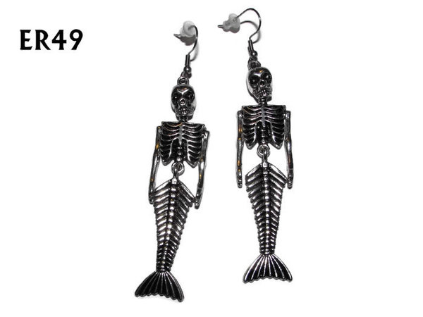 Earrings, Fiji Mermaid