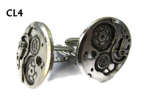 Cufflinks, Clockworkings silver