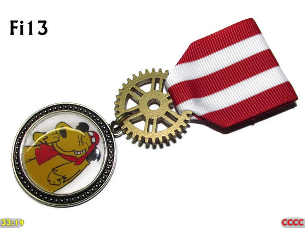 Medal, MFi13, Muttley Silver