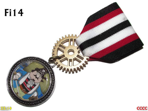 Medal, MFi14, Captain Pugwash