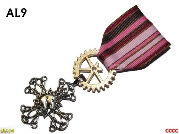 Medal, MAL09, Unicorn Cross