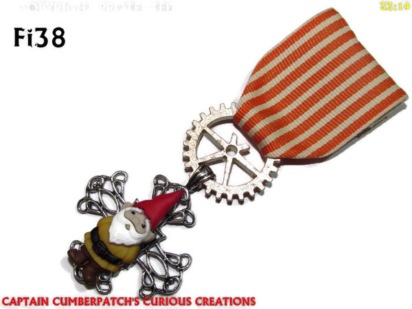 Medal MFi38, Gnome, Yellow
