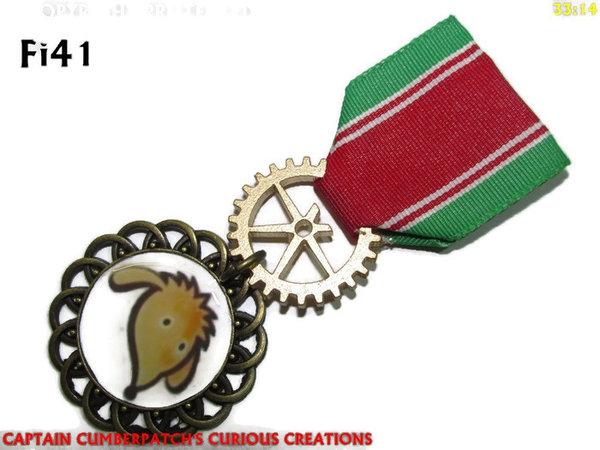Medal MFi41, Womble, green red